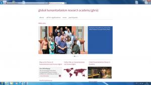 webpage ghra