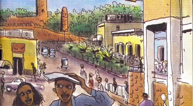 A guide to explore the urban and historical heritage of Gondar