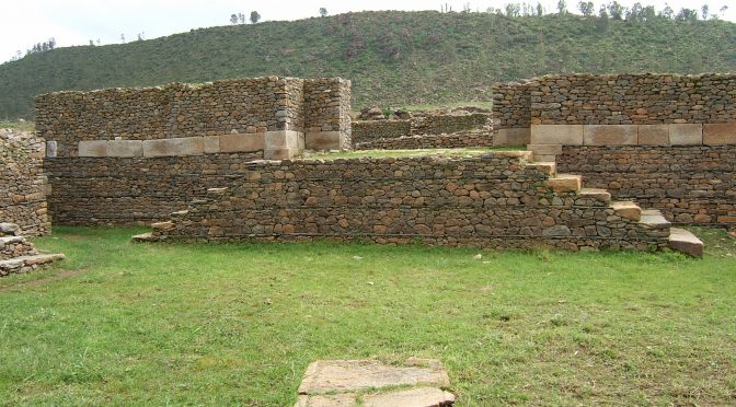 Aksum: State of Documentation and Preservation of the Sites and Monuments
