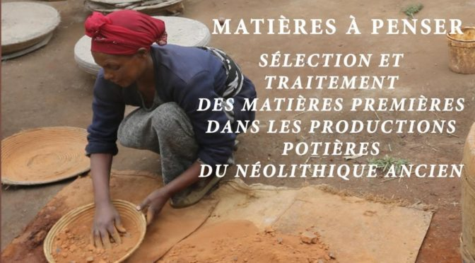 Publication: Potter Craftsmanship in Late Neolithic Ethiopia (Wolayta and Oromo)