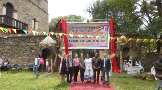 Opening of the Ras Ghimb Museum in Gondar