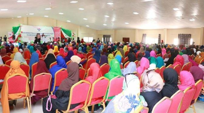 Women's involvement in politics and civil society in Somaliland