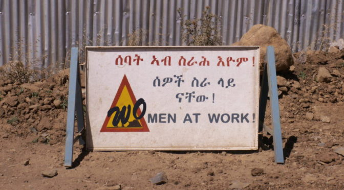 WOmen at work!: report on a photograph exhibition