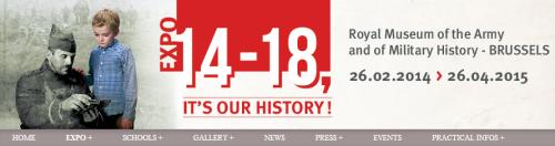 Expo 14 18 c'est notre histoire