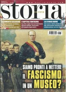 Storia in Rete, copertina del numero di Gennaio 2012