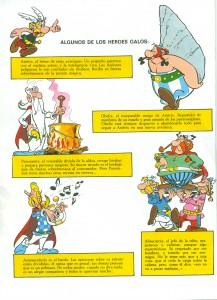 La quatrième page de l'album «Astérix en Hispanie» (trad. esp. de Víctor Mora, Barcelona: Grijalbo/dargaud, 1969)