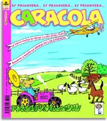Une des couvertures de l'édition espagnole de la revue «Pomme d'Api»