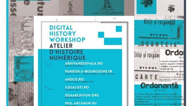 Digital history workshop // Atelier d'histoire numérique : Bucarest