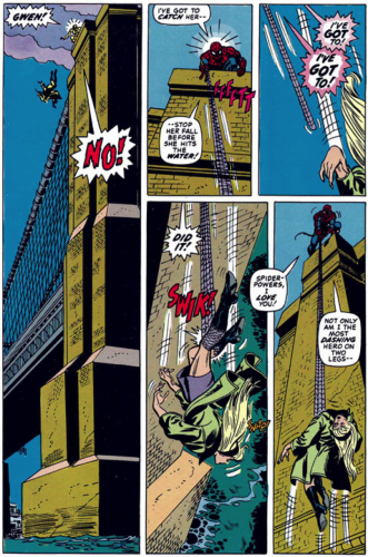 La mort de Gwen Stacy.
