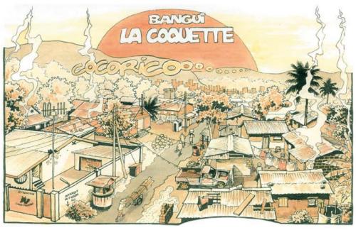 """Didier Kassaï, 2006, Bangui la coquette"""""""