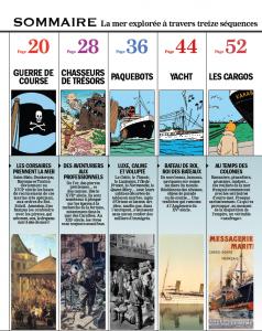 Tintin_et_la_Mer_Sommaire1