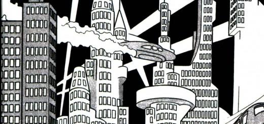 Tezuka Osamu, Metropolis, 1949.