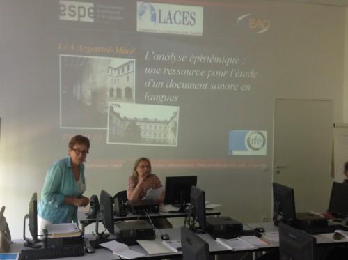 Sylvie Garçon présente le LéA Argentré-Macé
