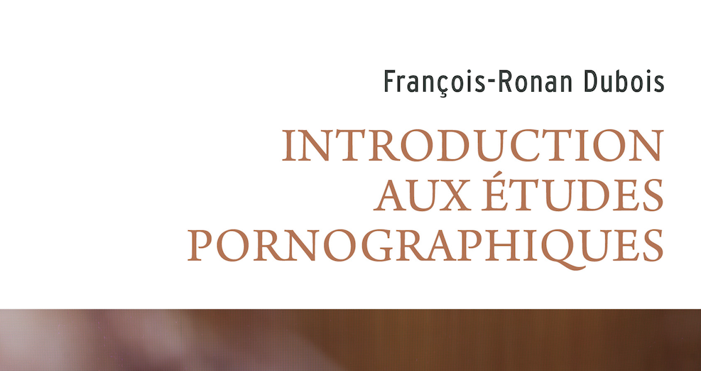 Introduction aux porn studies
