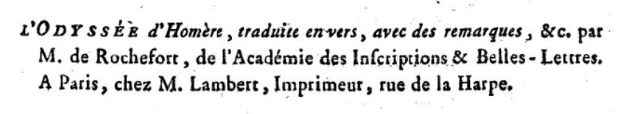Titre Recension Rochefort II