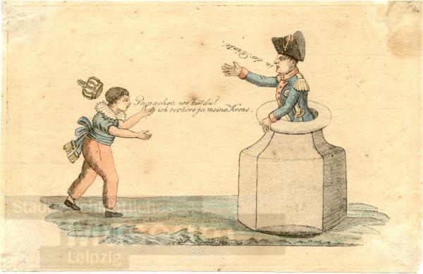 Karikatur_Napoleon_in_der_Tinte