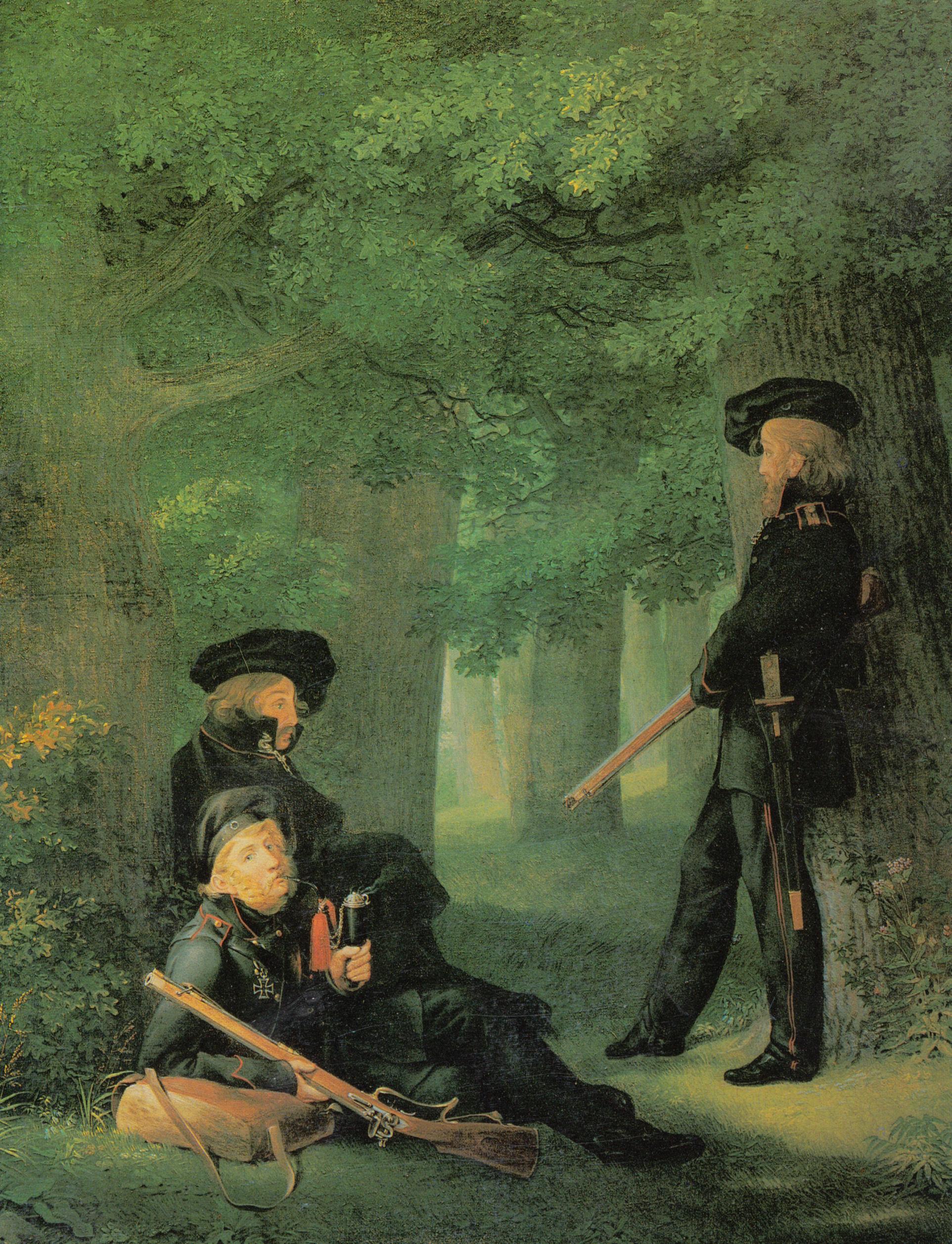 """Kersting """"Auf Vorposten"""", 1815"""