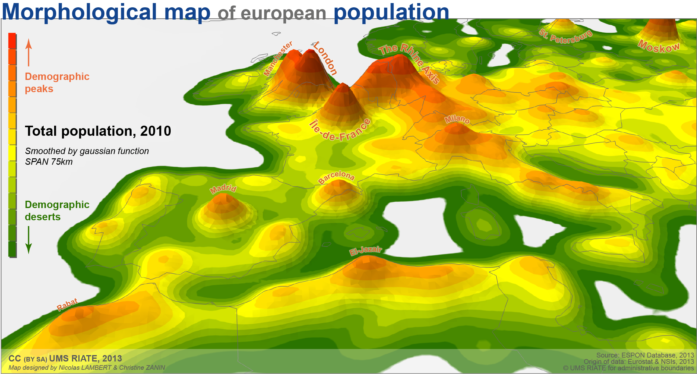 carte  la population en europe  u2013 carnet  neo cartographique