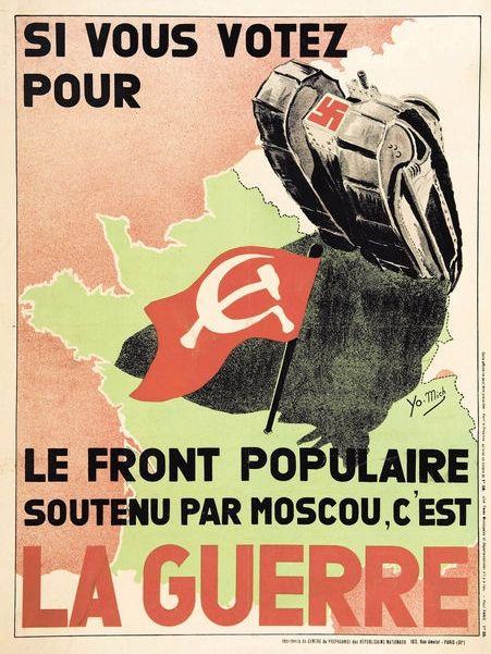 illustration de propagande nazie parue en 1936