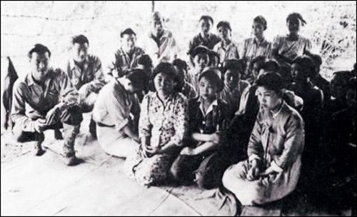 Phụ nữ bị quân đội Nhật Bản ép buộc làm nô lệ tình dục trong Thế chiến II.