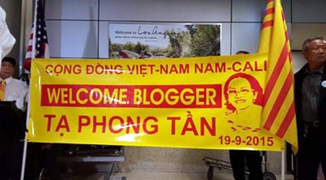 """Ta Phong Tan, libérée mais """"expulsée"""" aux États-Unis"""
