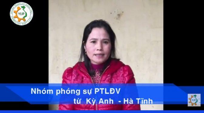 Nổi khốn cùng của Doanh Nghiệp và công nhân tại Hà Tĩnh [reportage vidéographique]