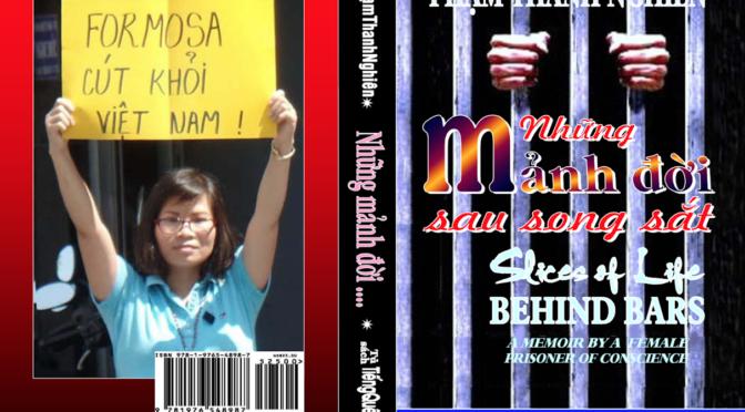 """Phạm Thanh Nghiên : """"Những Mảnh Đời Sau Song Sắt"""" – Mémoires d'une prisonnière de conscience"""