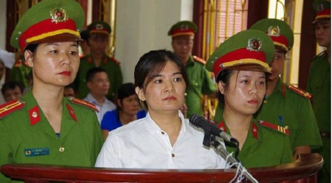 Vietnamese Political Prisoner Tran Thi Nga Back in Touch With Family [RFA]