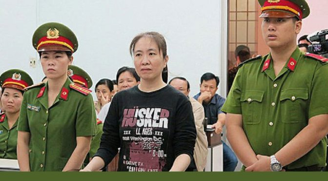 Vietnamese Blogger Mother Mushroom Moved From Cell, Still Refuses Food [RFA]
