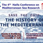 The History of The Mediterranean - save the date