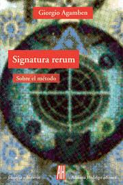 Signatura rerum agamben