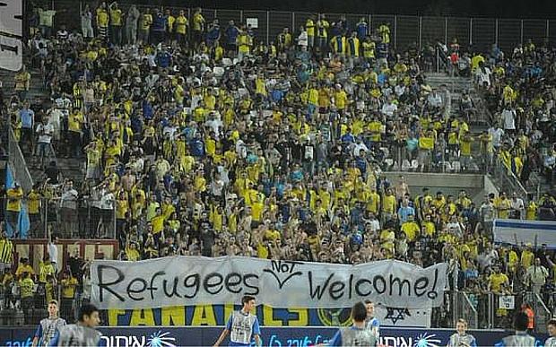 Les tribunes du Beitar lors d'un match récent...