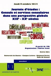 """Journée d'études """"Consuls et services consulaires dans une perspective globale, XIXe-XXe siècles"""""""