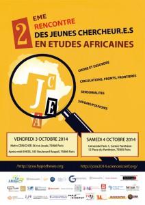 Rencontres des Jeunes Chercheurs en Etudes Africaines