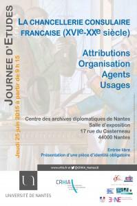 La chancellerie consulaire française (16ème-20ème s.). Attributions – organisation – agents – usages