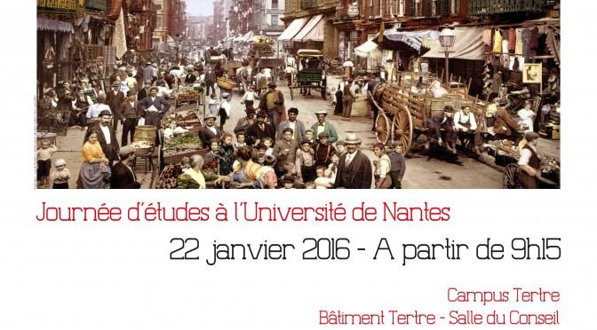 """Journée d'études """"Mobilités Nord / Sud :  une perspective globale"""""""