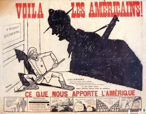 """Appel à communications : """"Voilà les Américains !""""  Les Etats-Unis en France et en Europe, 1917-1920 : circulations et diffusion des idées et des savoirs"""