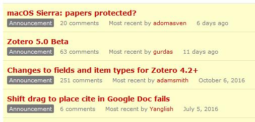 zotero_forum-annoncements