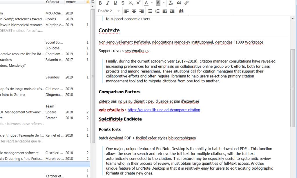 copie d'écran : soulignement en rouge et manque de lisibilité