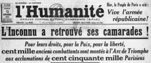 Humanit+® 12 novembre 1935