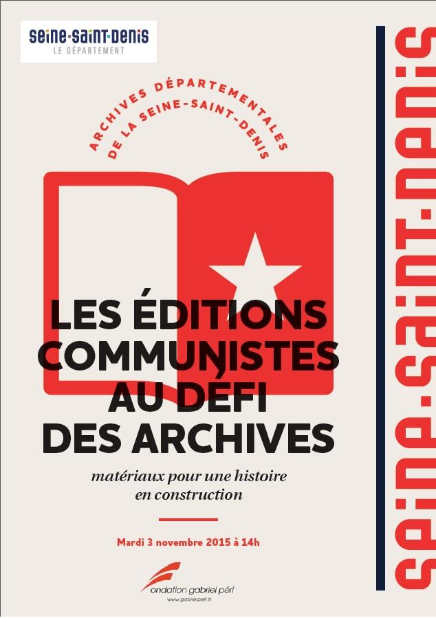 Paprik 2f Signale La Table Ronde Les Ditions Communistes Au D Fi Des Archives Mat Riaux Pour