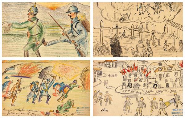 dessins d'enfants Musée Montmartre