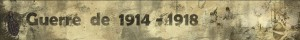 guerre 1914-1918
