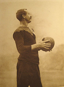 Dave Gallaher, capitaine des All Blacks.