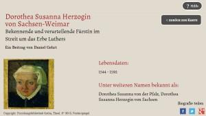 Dorothea Susanna Herzogin von Sachsen-Weimar