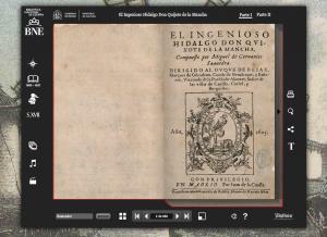 Quijote Interactivo   Biblioteca Nacional de España