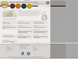 Biblioteca Digital del Pensamiento Novohispano