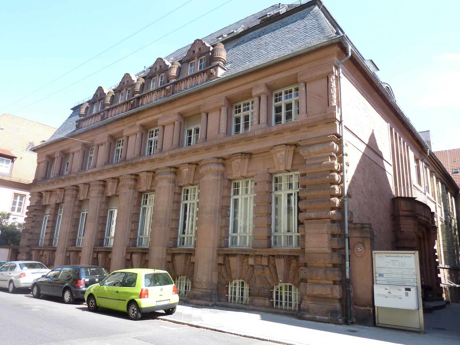 """Das virtuelle Gedenkbuch """"Erinnern in Speyer 1933-1945 ist ein Online-Projekt des Stadtarchivs Speyer"""
