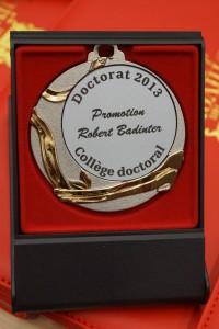 La médaille de la promotion 2013