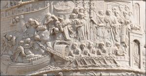 Colonne Trajanne, Forum de Trajan, Rome.